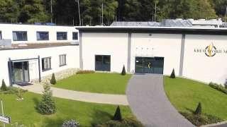 Das Hauptgebäude des Rhein-Taunus-Krematoriums