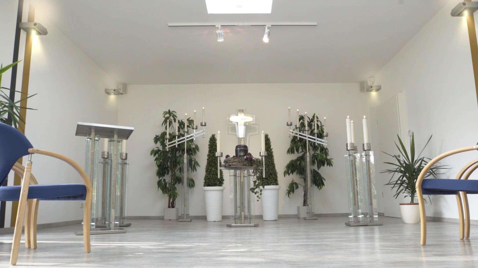 Die Trauerhalle